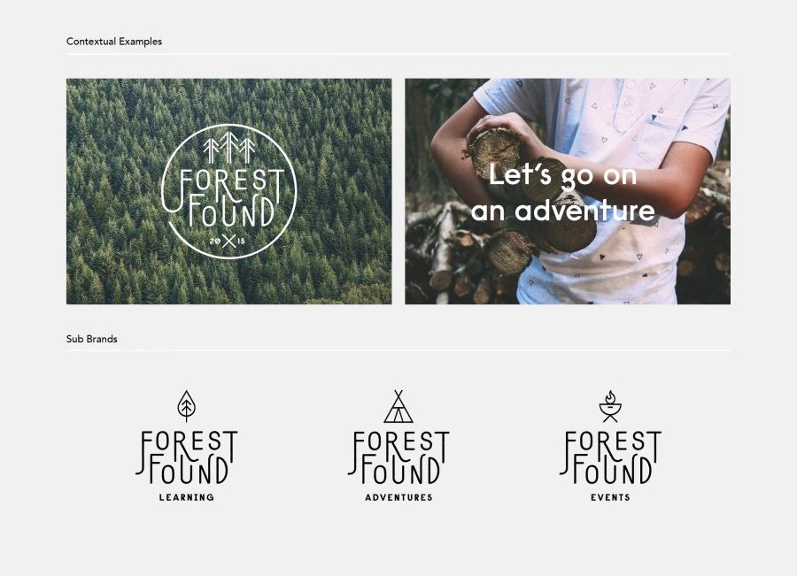 Modern Logo Brand Guidelines Templates