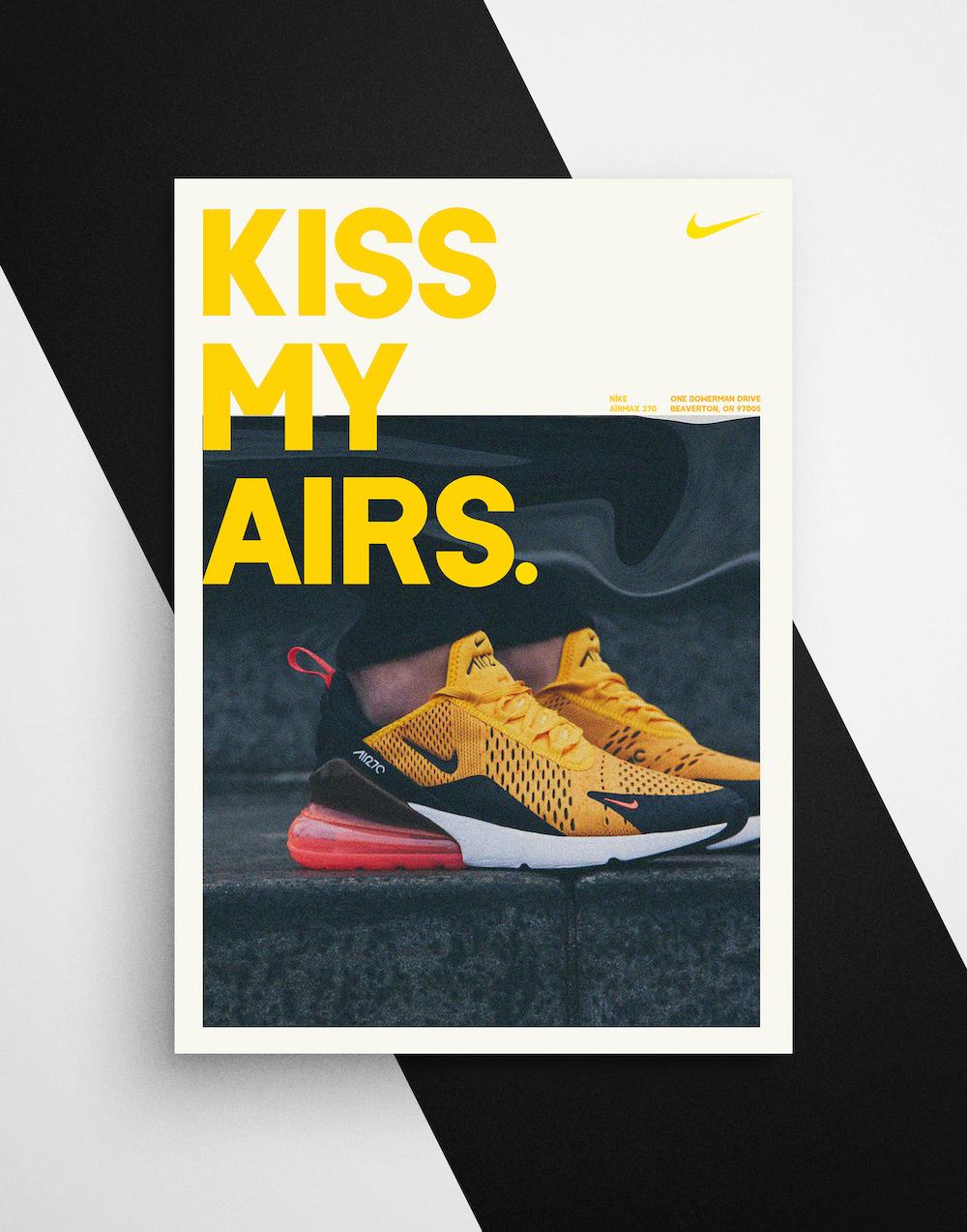 Modern Nike Sneaker Product Flyer Template2