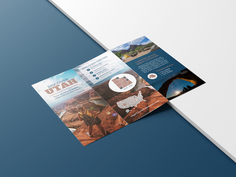 Modern Travel Marketing Brochure Example