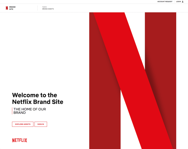 Netflix Brand Guidelines Templates