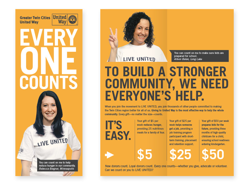 Nonprofit Marketing Brochure Example