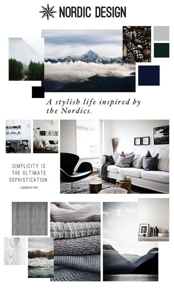 Nordic Design Photography Brand Guidelines Templates