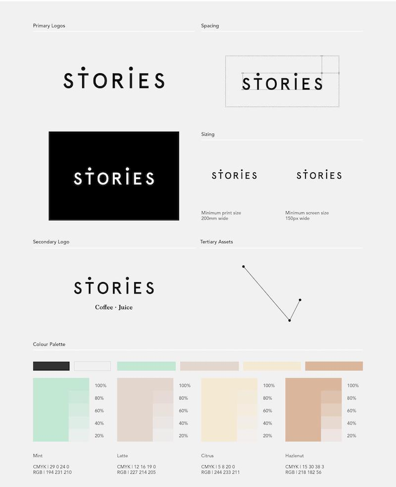 Stories Color Brand Guidelines Templates