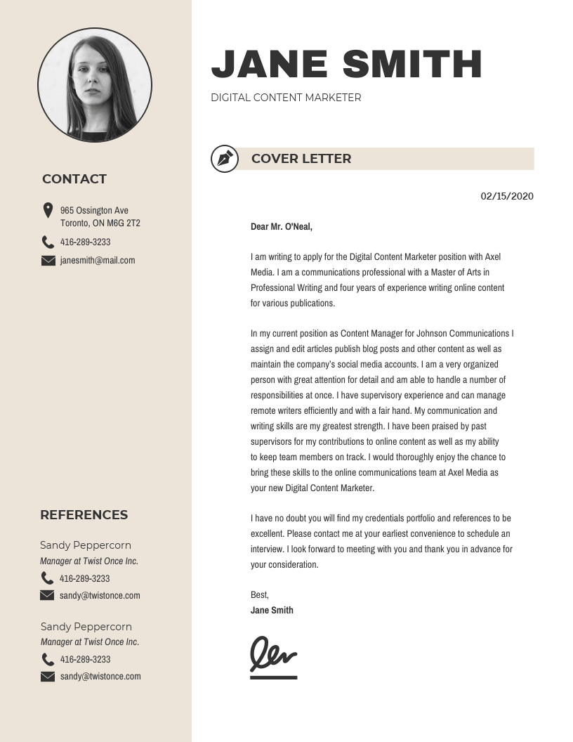 20+ Cover Letter Templates to Impress Employers (Guide ...