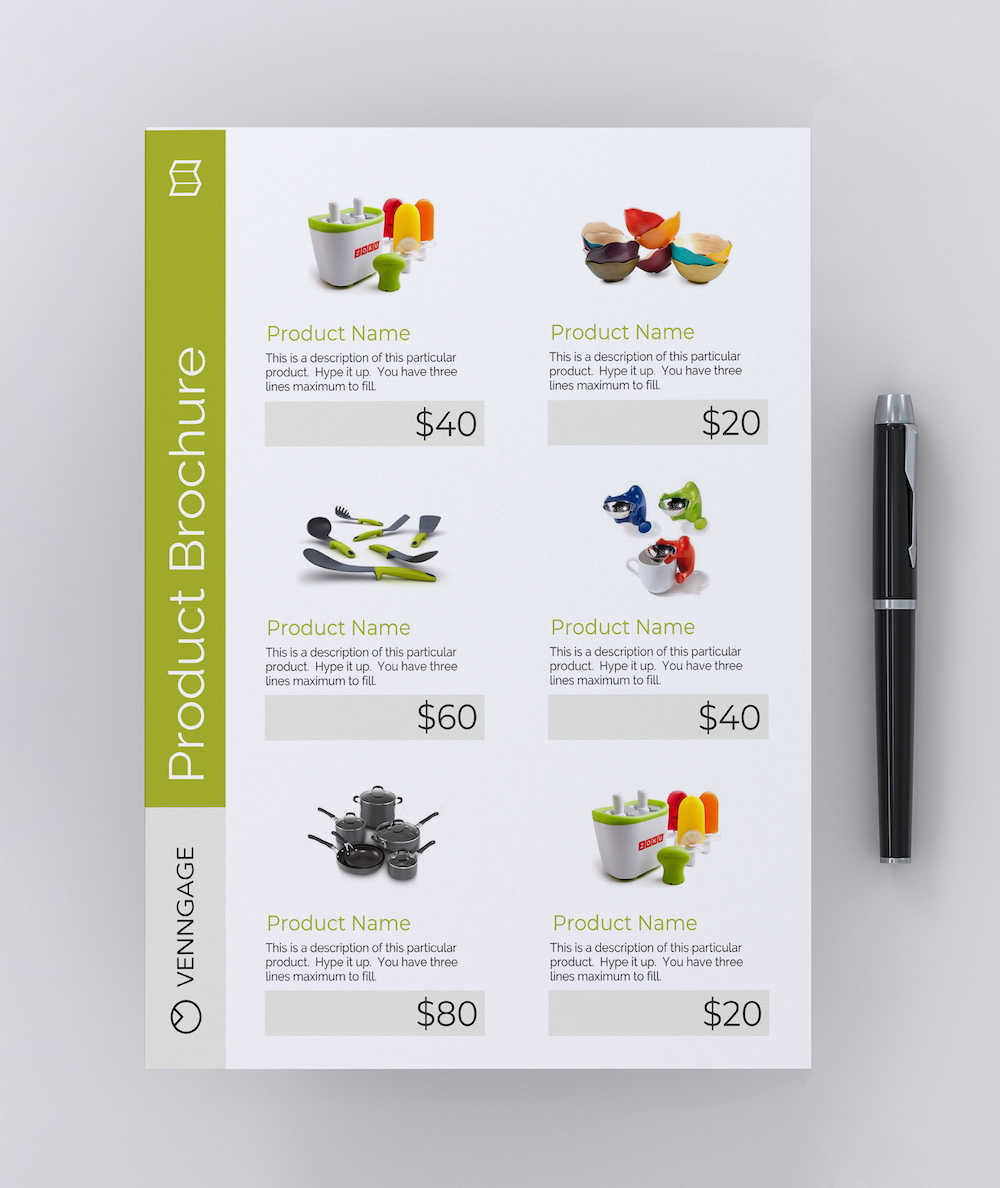 Product Brochure Flyer