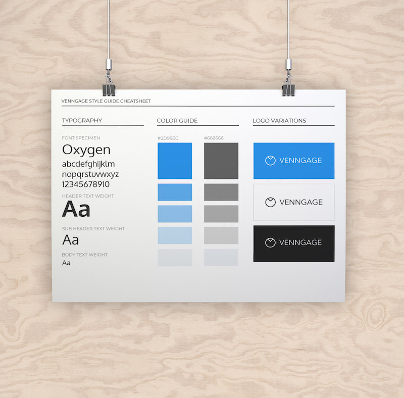 White Minimalist Brand Guidelines Template