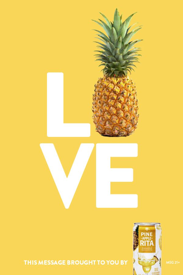 Yellow Pineapple Creative Food Product Flyer Example