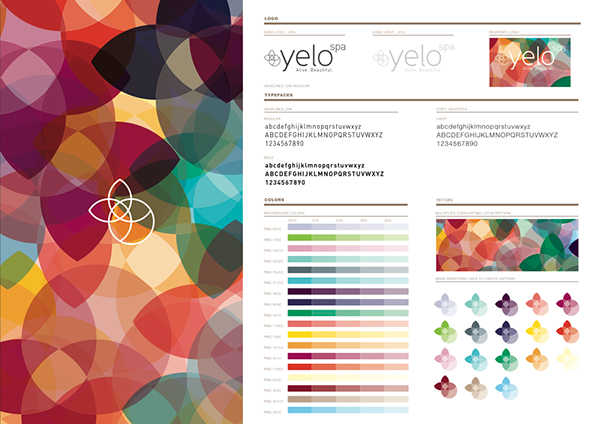 Yelo Color Brand Guidelines Templates