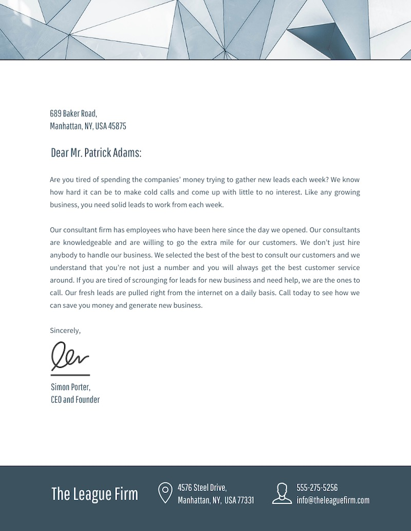 23 Business Letterhead Templates Branding Tips