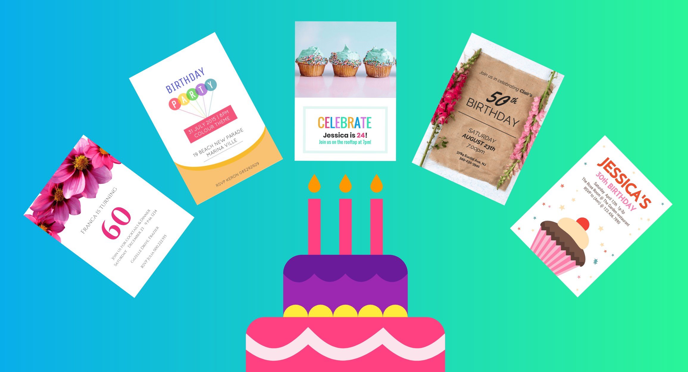 10 Creative Birthday Invitation Card Design Tips [+Templates
