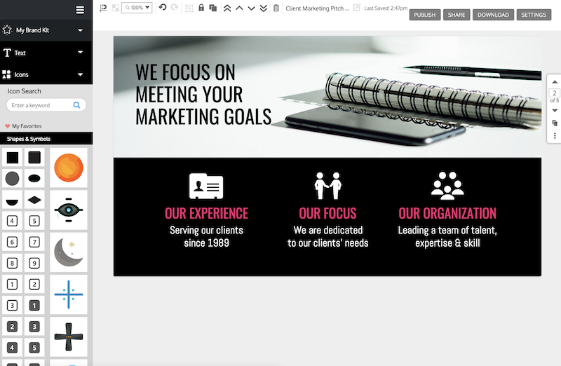12+ Business Pitch Deck Templates and Design Best Practices to