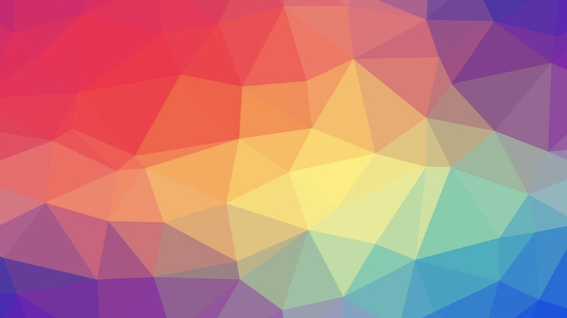 Colorful Geometric Simple Background Image
