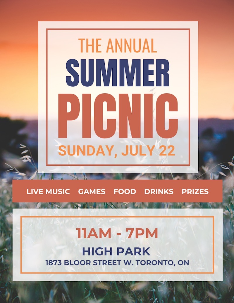 Creative Picnic Event Flyer Template