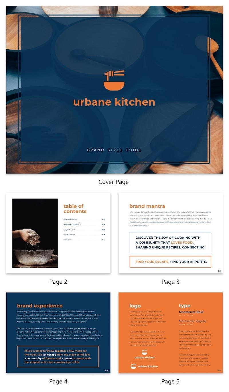 Modern Company Branding Ebook Template