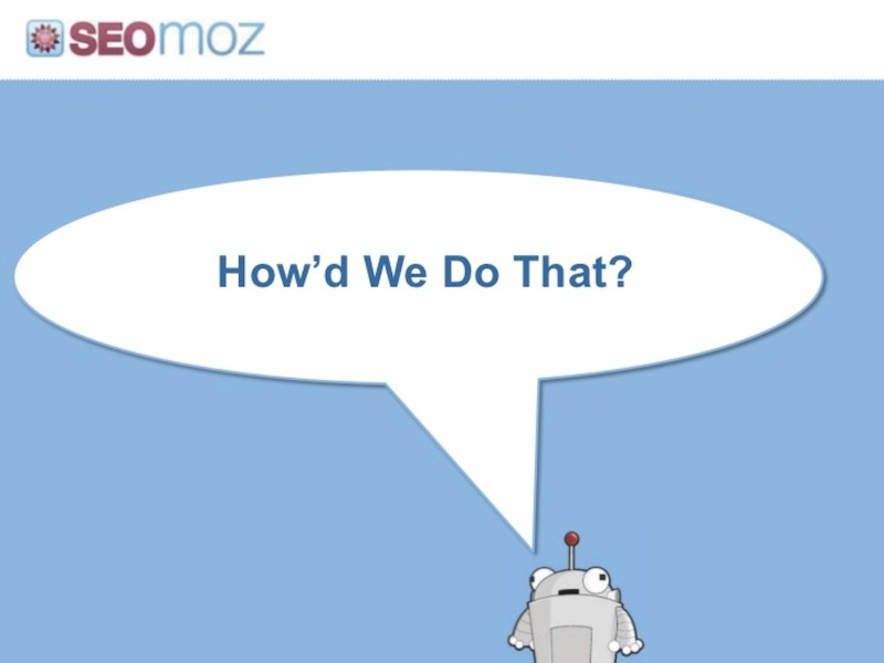 Moz Pitch Deck