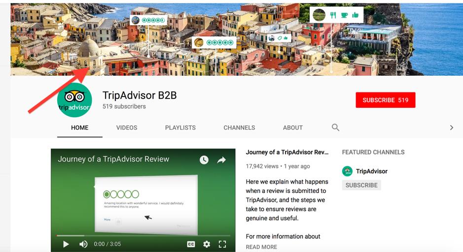 Tripadvisor Youtube Banner