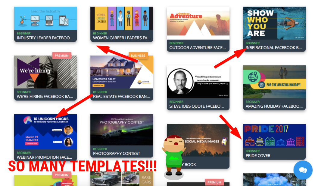 10 facebook banner templates and design tips