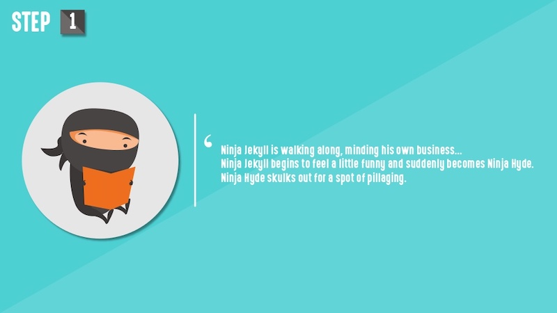 Animation Ninja Funny Tech Presentation Ideas