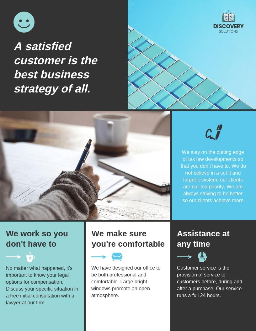 Business Marketing Flyer Background Image