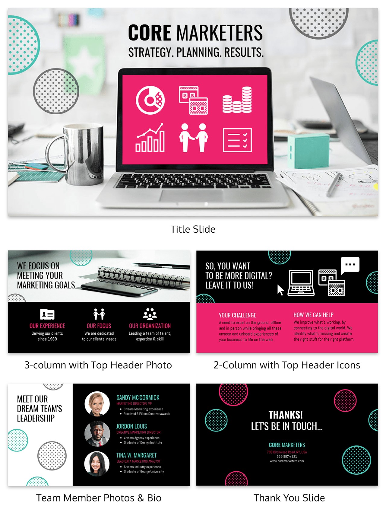 Creative Marketing Presentation Ideas