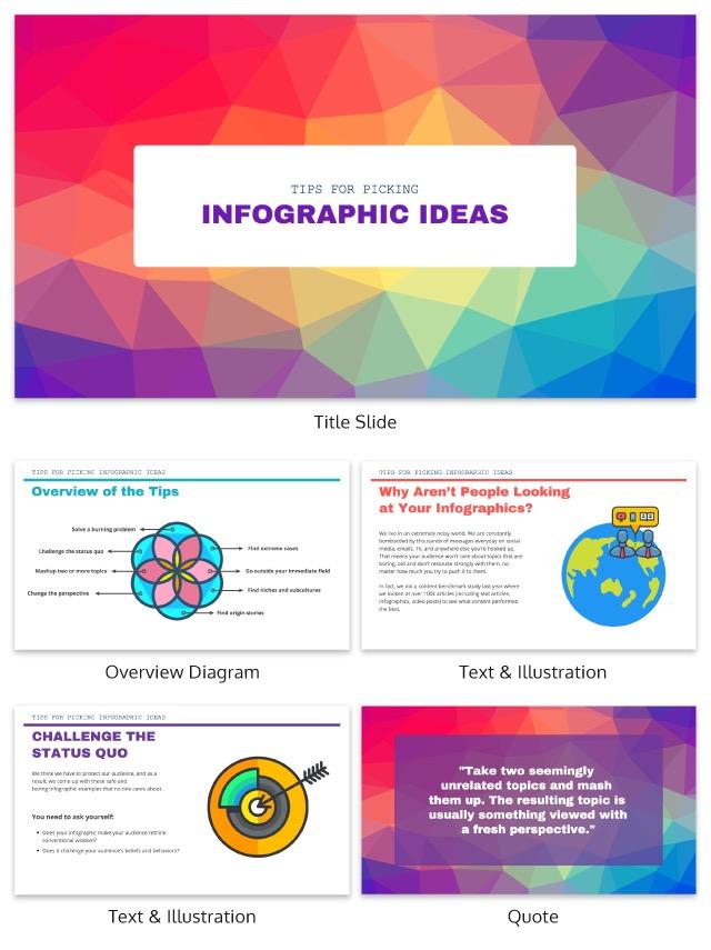 Minimalist Creative Presentation Ideas