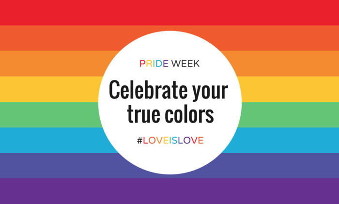 Minimalist PRIDE Event Poster Template