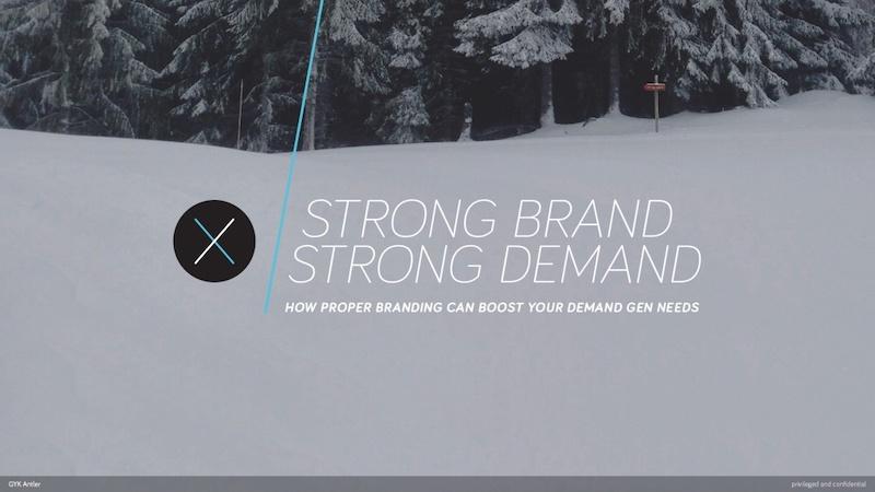 Modern Company Branding Presentation Ideas