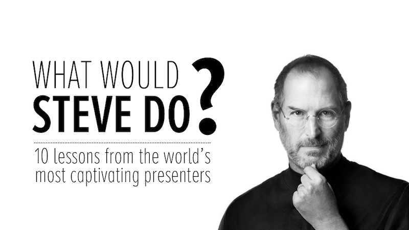 Steve Jobs Apple Presentation Ideas