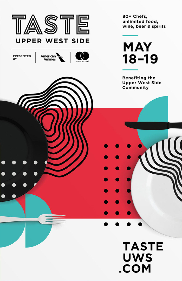 White Creative Food Festival Event Poster Example