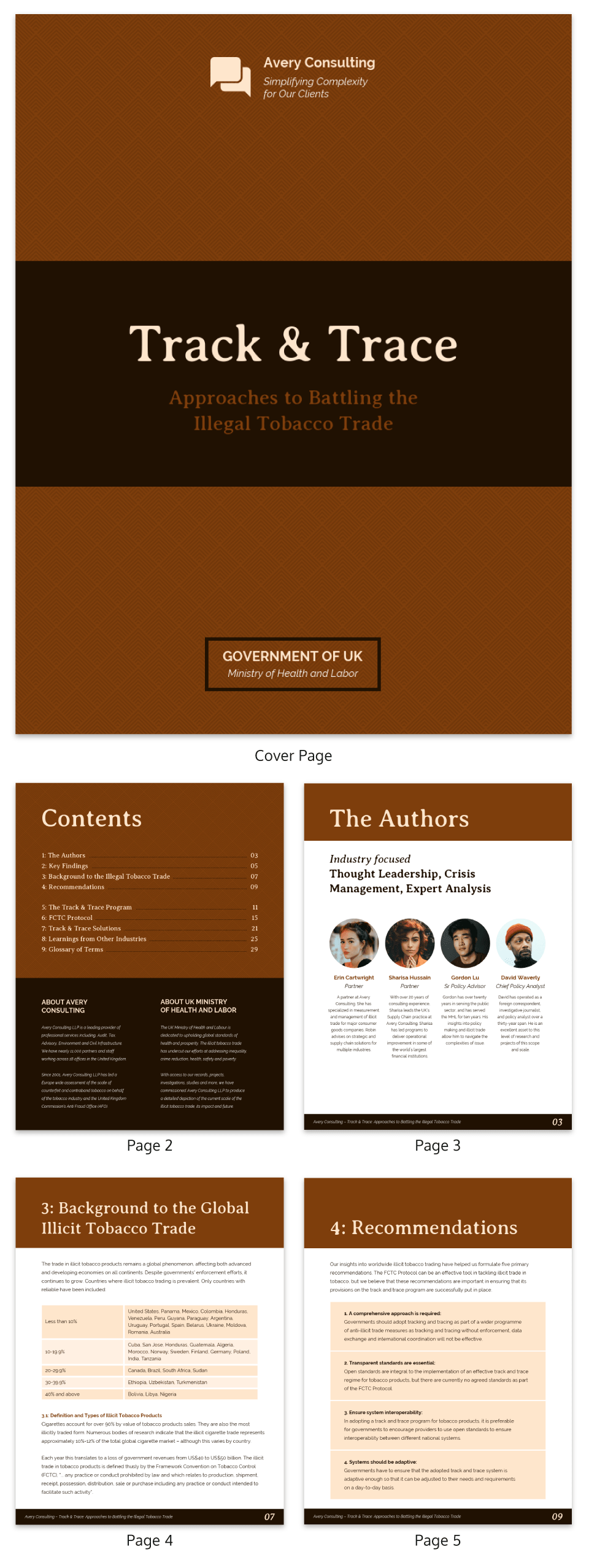 consulting white paper template