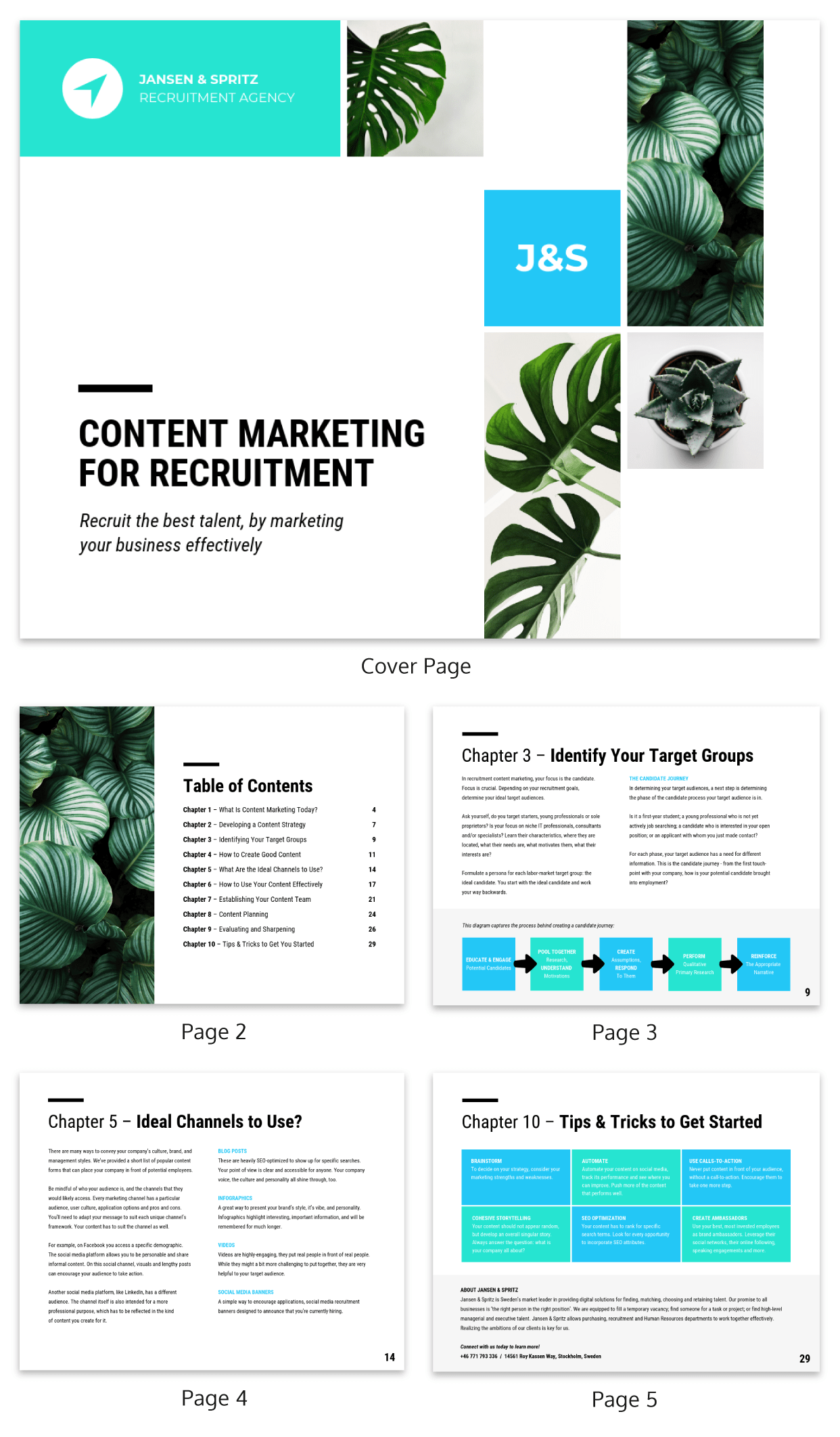 hiring strategies human resources white paper template