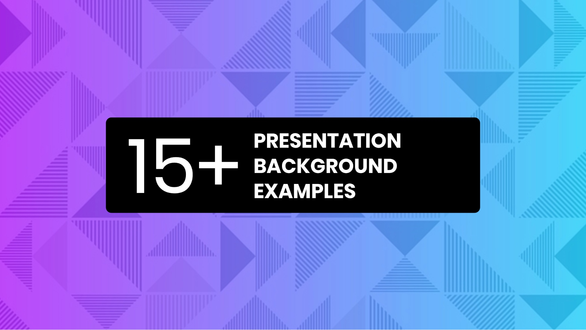15+ Presentation Background Examples13