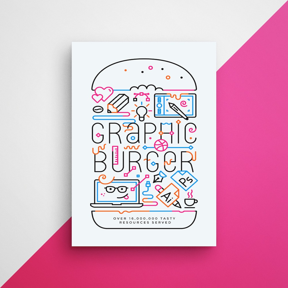 Colorful Typography Creative Poster Example2