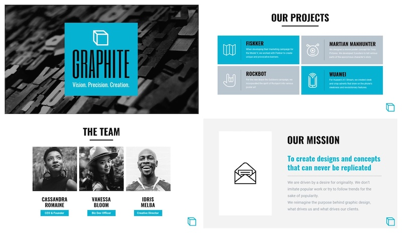 Creative Business Presentation - Best Startup Pitch Deck Template