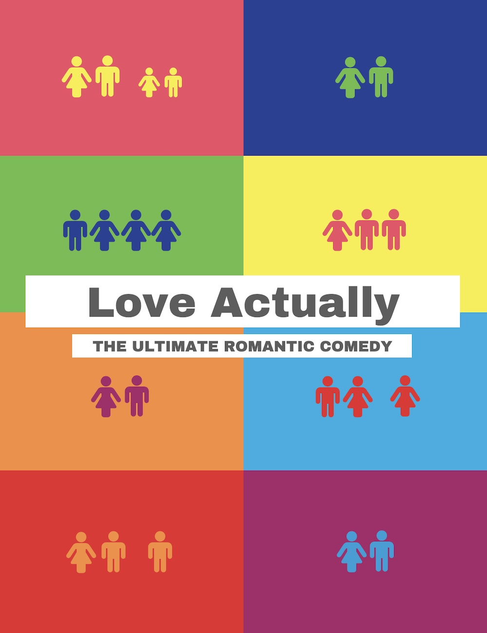 Love Actually Creative Movie Poster Ideas