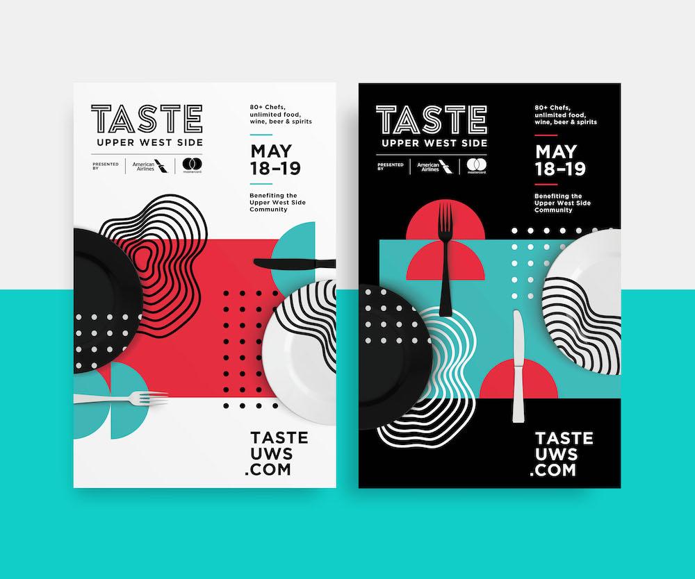 Minimalist Food Festival Poster Example