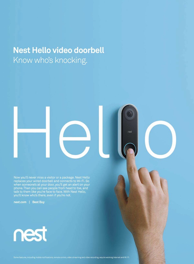 Nest Product Creative Poster Example