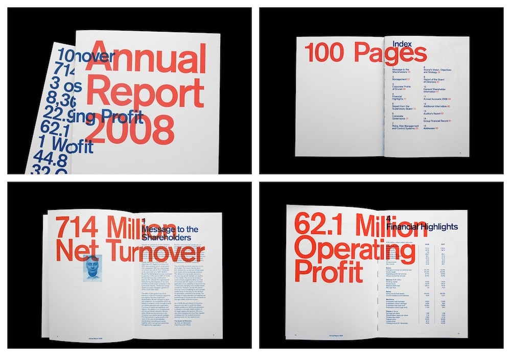 Bold Modern Annual Report Example