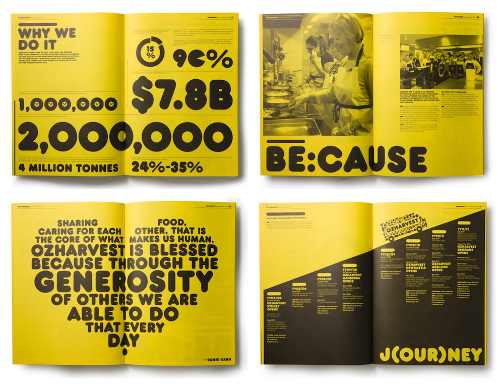 Creative Non Profit Annual Report Templates