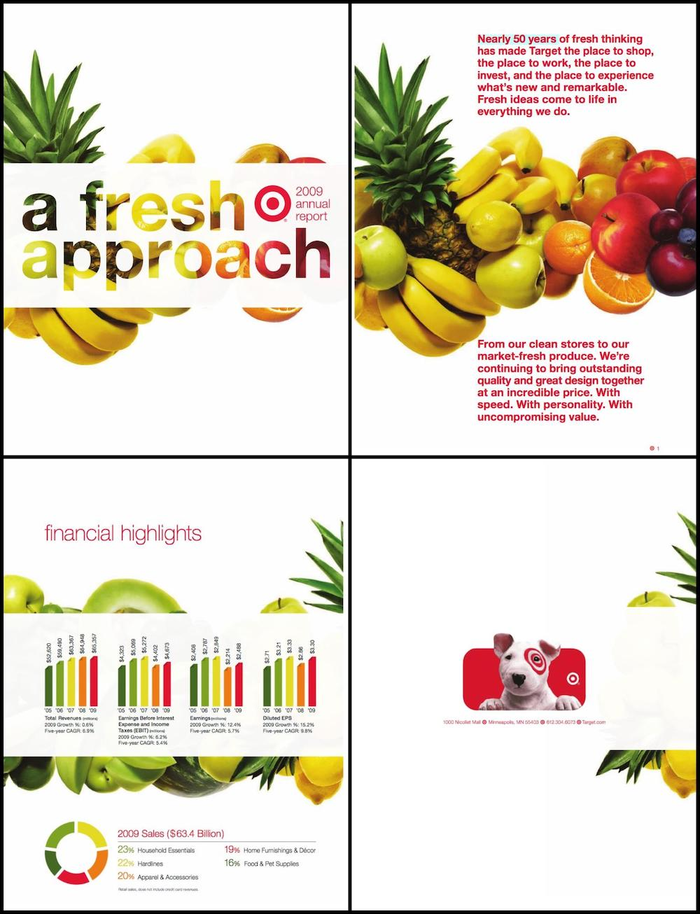 Creative Target Annual Report Example