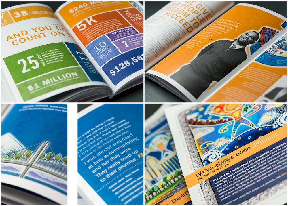 Fun Creative Non Profit Annual Report Templates1