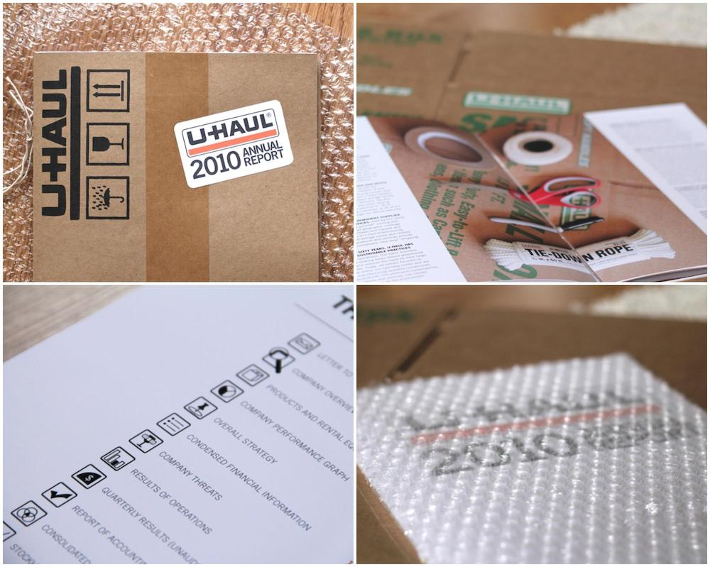 Innovative Uhaul Annual Report Example