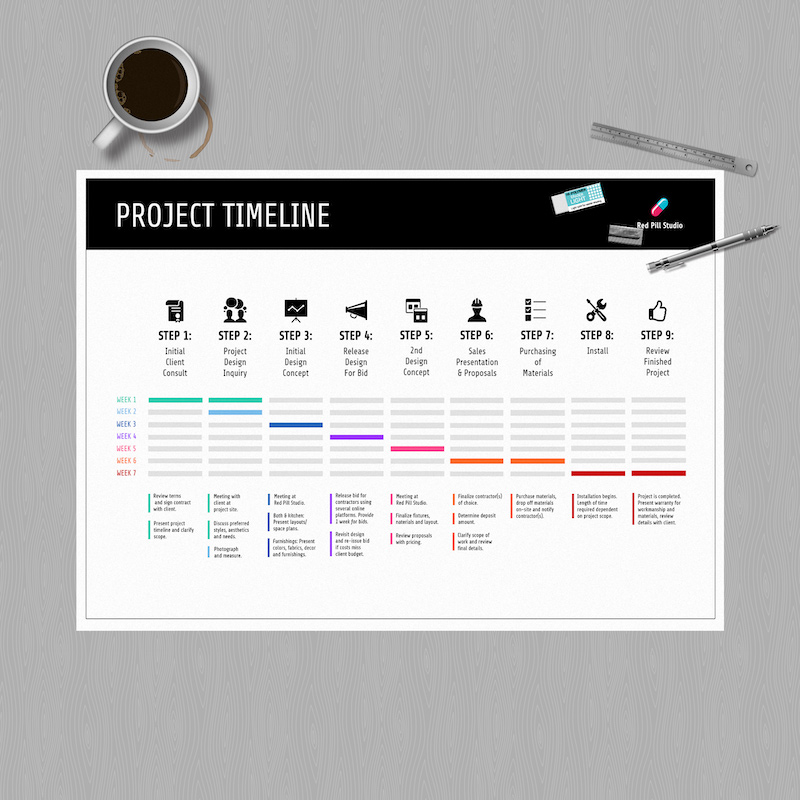 Simple Black Project Plan Template2