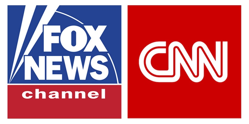 Fox CNN Comparison Logo Styles
