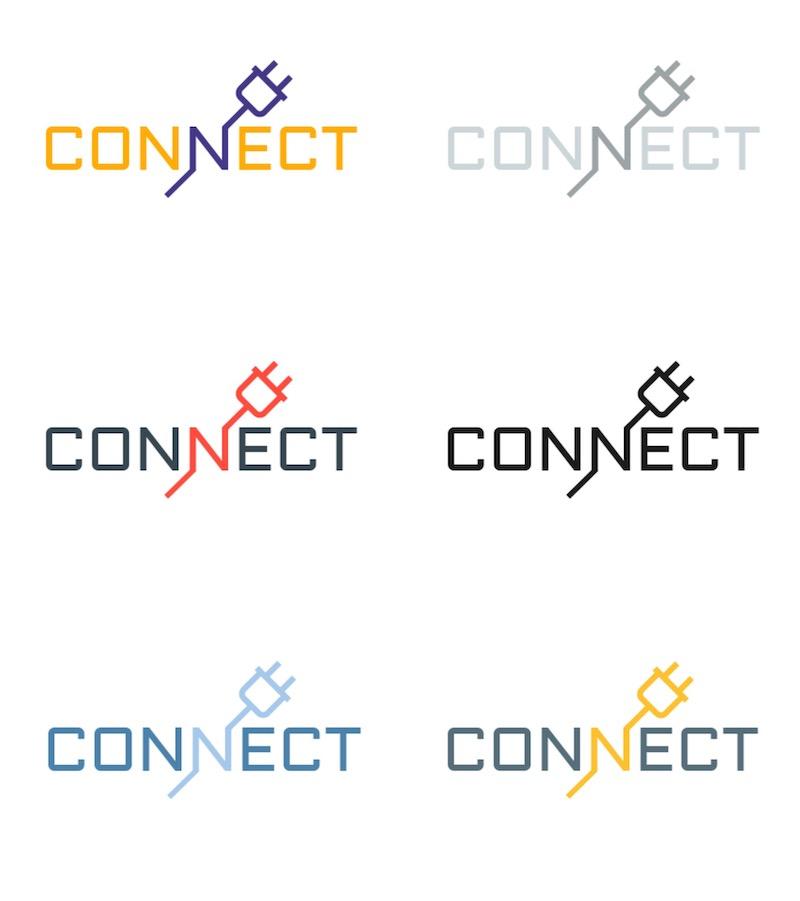 Modern Colorful Tech Logo Styles