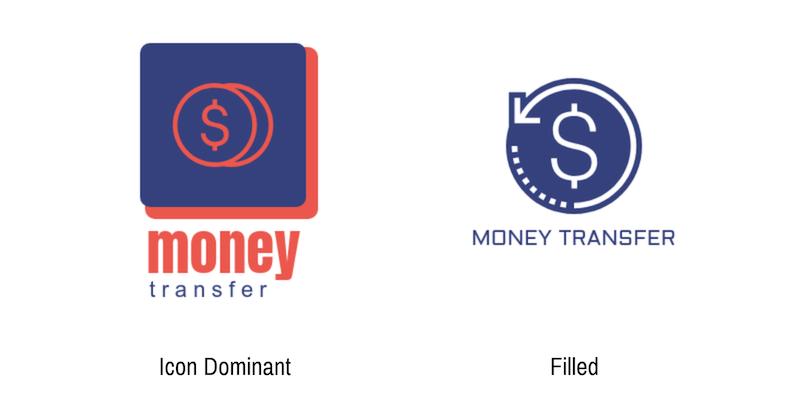 Modern Minimal Bank Logo Styles