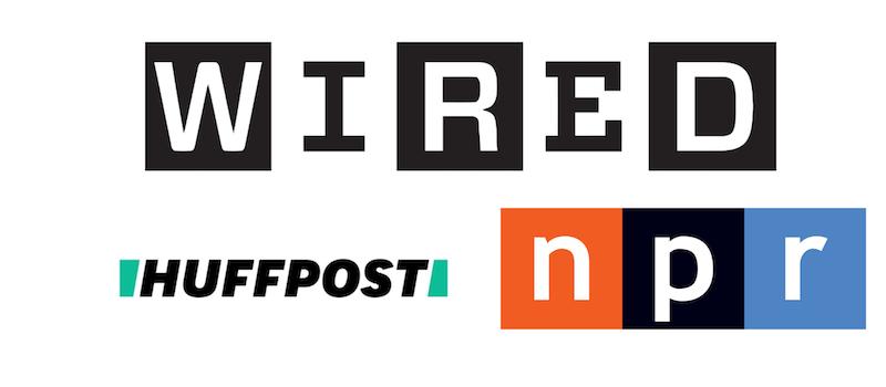 News:Media Logo Styles Comparison