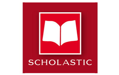Red Scholastic Education Logo Style