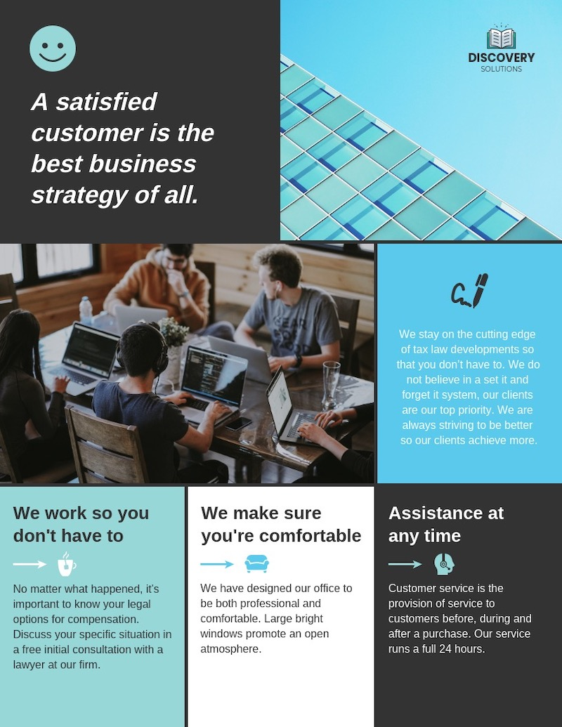 Sectional Business Flyer Template