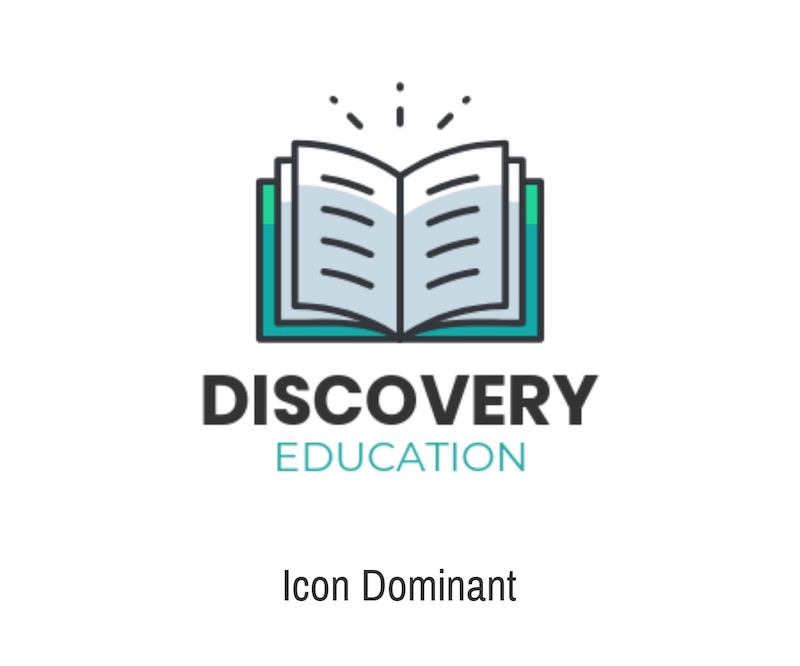 Simple Education Icon Logo Styles